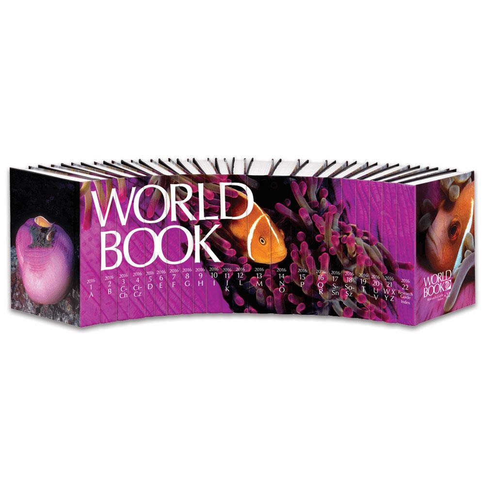 The World Book Encyclopedia 2016