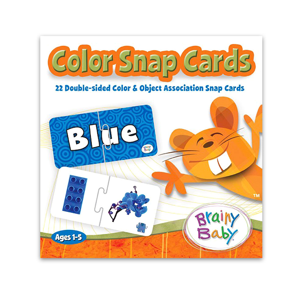 Brainy Baby® Color Snap Cards