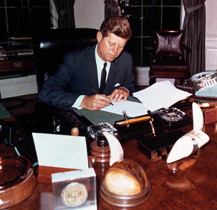 """f909fc9ca21 Boston s John F. Kennedy Presidential Library and Museum opened """"JFK 100   Milestones and Mementos"""" on May 26"""