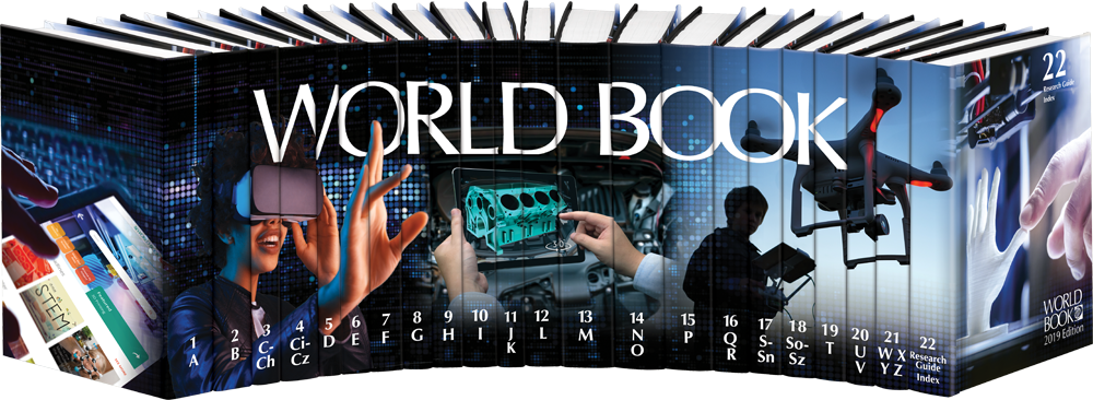 The World Book Encyclopedia 2019