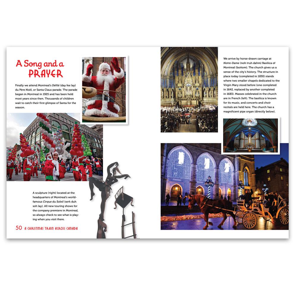 A Christmas Train Across Canada | World Book