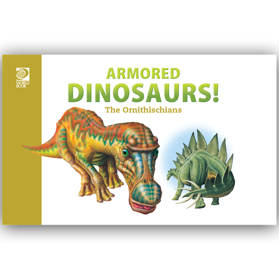 Armored Dinosaurs! The Ornithischians cover