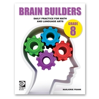 Brain Builders Grade 8 cover