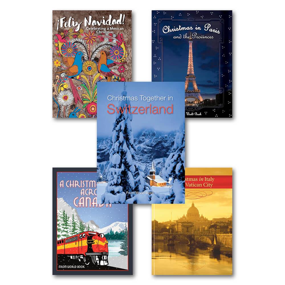 Vancouver spread · Christmas crafts spread · Christmas Around the World set ...