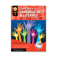 Language Arts and Literacy Grade 7 cover