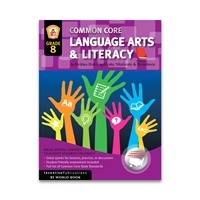 Language Arts and Literacy Grade 8 cover