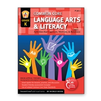 Language Arts and Literacy Kindergarten cover