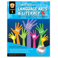 Language Arts and Literacy Grade 1 cover