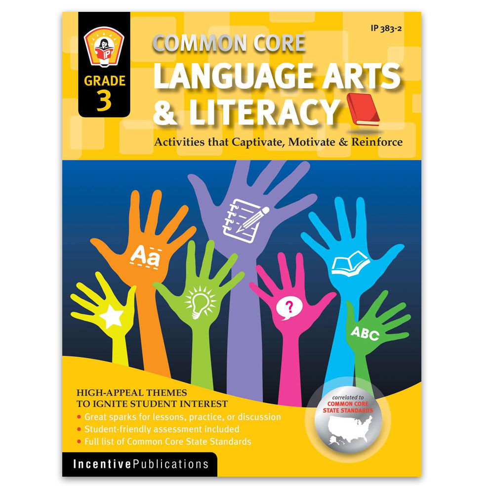 Language Arts and Literacy Grade 3 cover