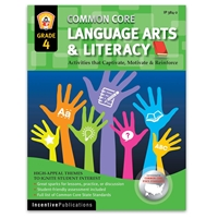 Language Arts and Literacy Grade 4 cover