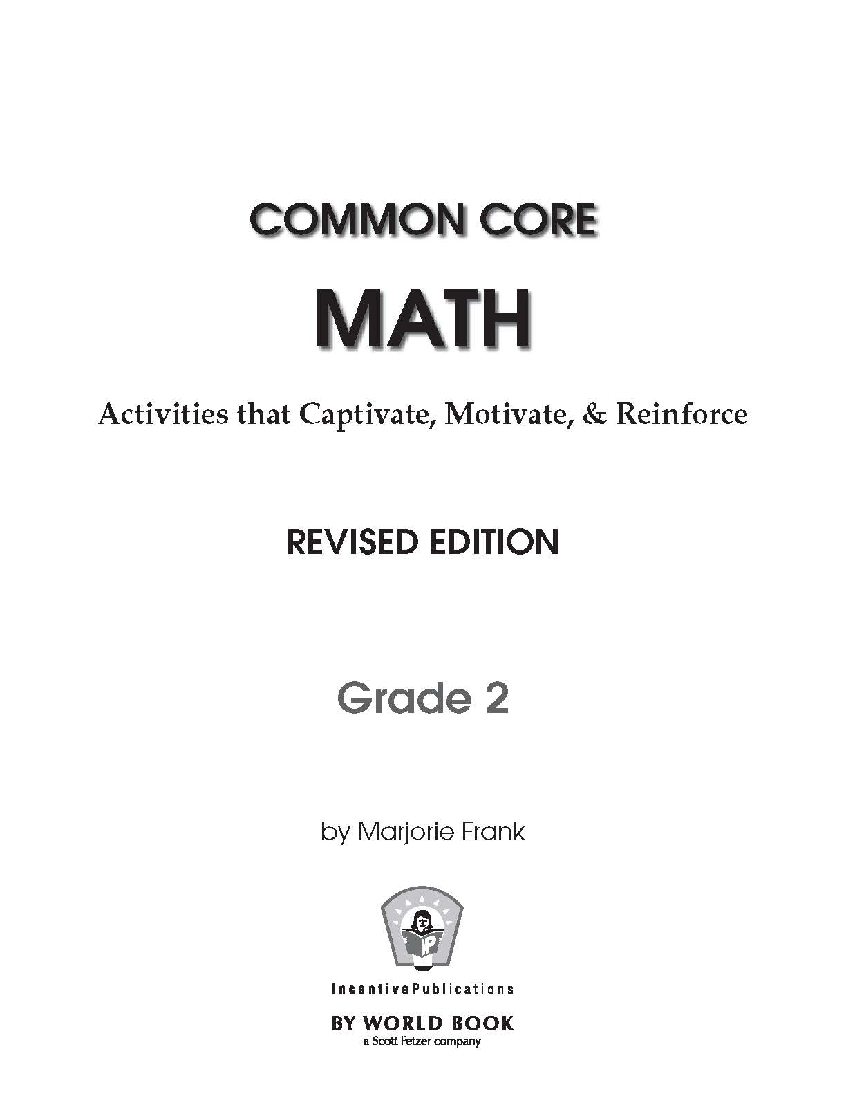 Common Core Math Grade 2 - IP3821