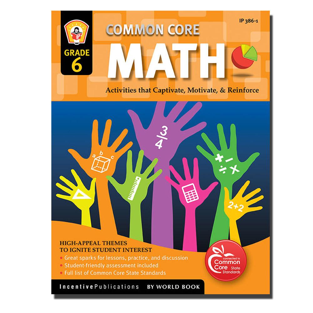 Common Core Math Grade 6   World Book