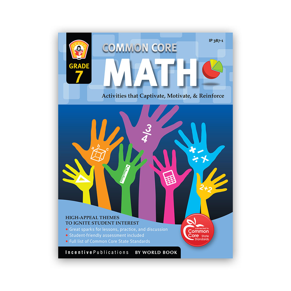 Workbooks 7th grade workbooks : Common Core Math Workbook for Grade 7 | World Book