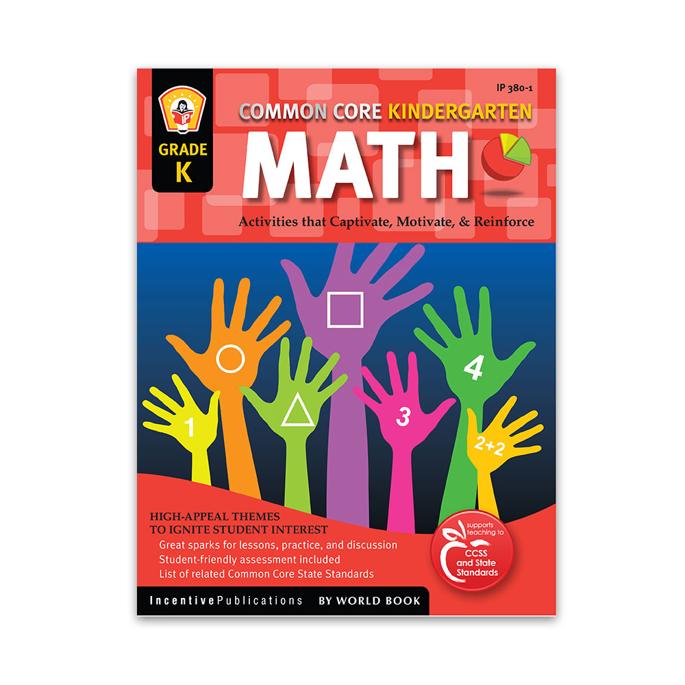Common Core Math Kindergarten teaching resources, books for teachers, common core, education, kindergarten
