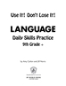 Daily language practice 9th grade page
