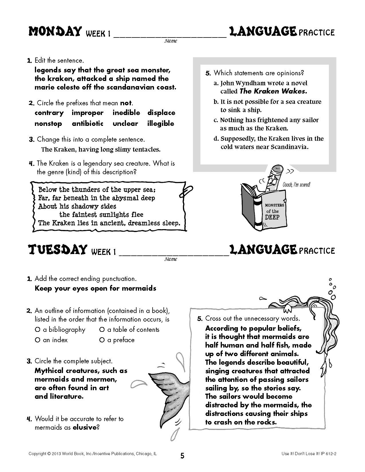 the language of literature grade 7