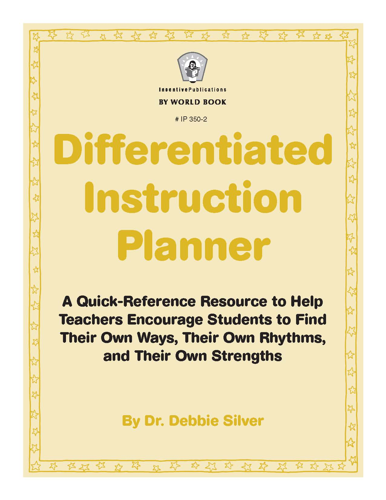 Differentiated Instruction Planner cover