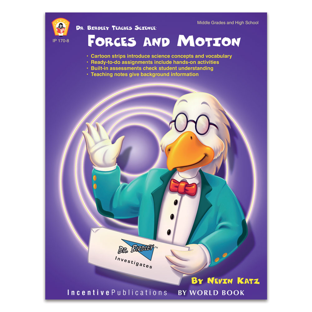 Dr. Birdley Teaches Science: Forces and Motion cover