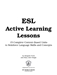 ESL Active Learning Lessons page