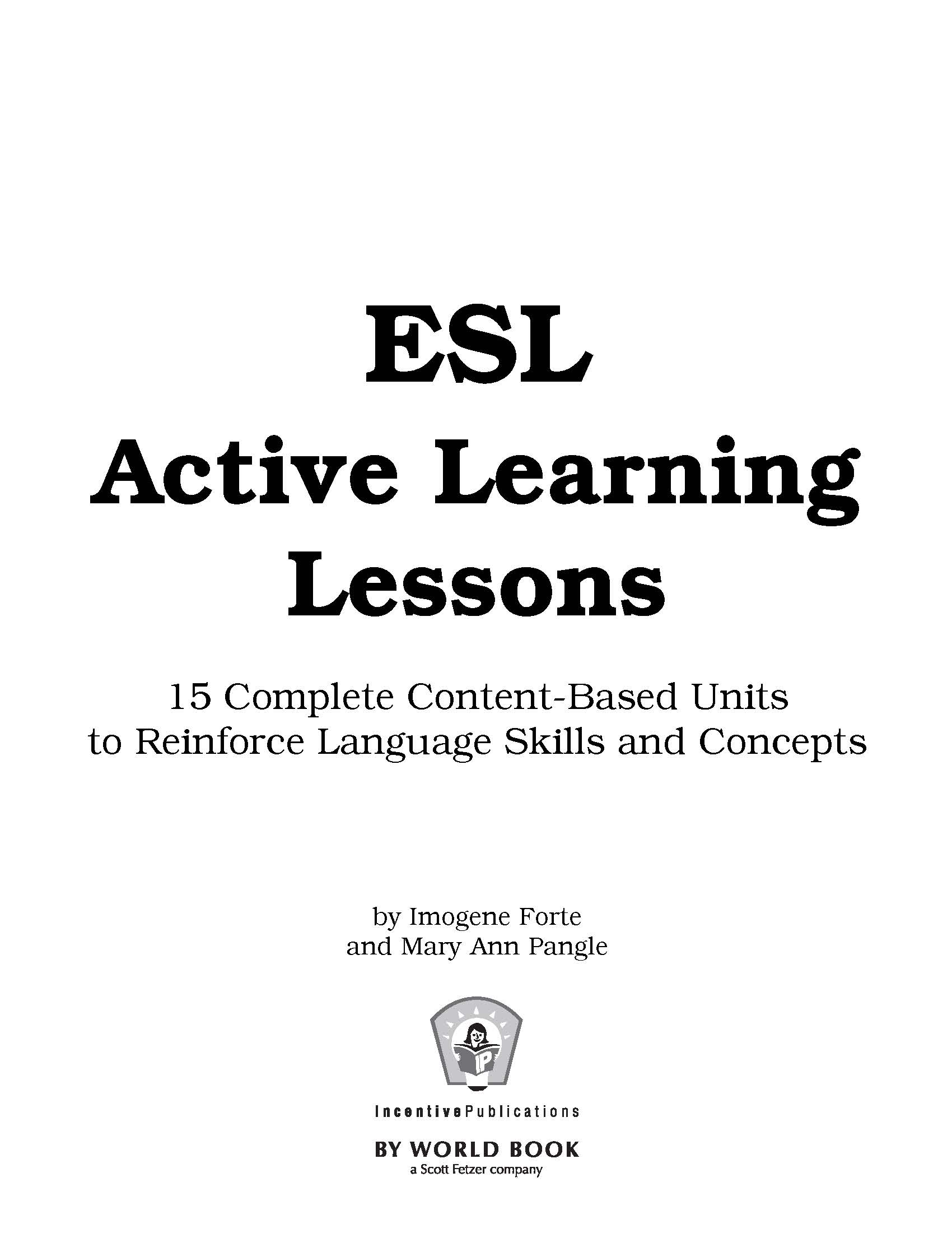 ESL Active Learning Lessons - IP4601