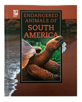 Endangered Animals of South America cover