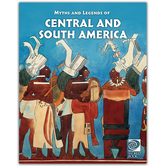 Famous Myths and Legends of Central and South America cover