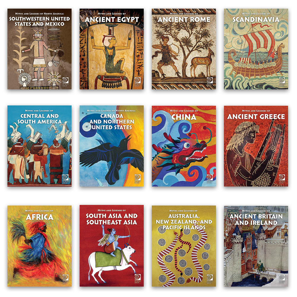Famous Myths and Legends of the World   World Book