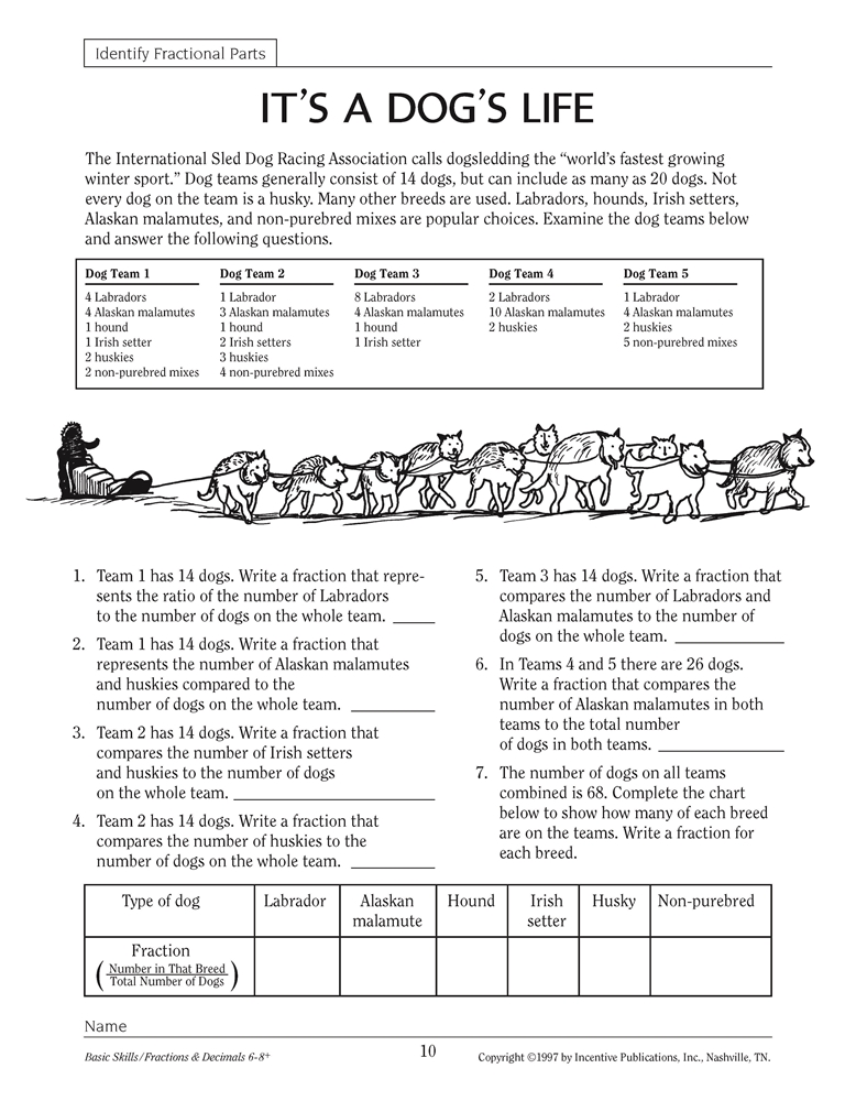 basics of fractions and decimals pdf