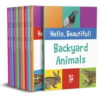 Hello, Beautiful!  Animals, learn to read, children's book, early readers, learning to read, picture book