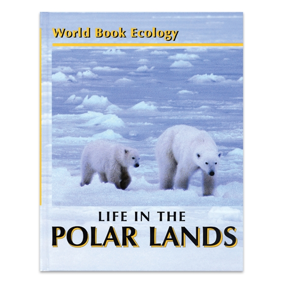 Life in the Polar Lands cover