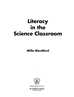 Literacy in the Science Classroom page
