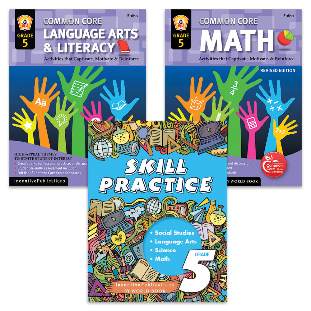 Skill Builder Grade 5 bundle
