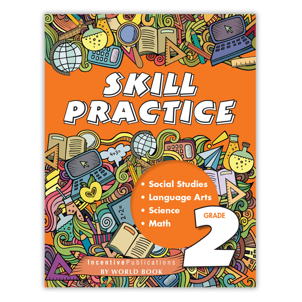 Worksheet Practice Book Grade 2 skill practice grade 2 world book ip4702