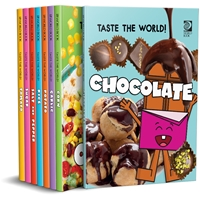Taste the World! fun facts, food, recipes, world book, nonfiction, culture