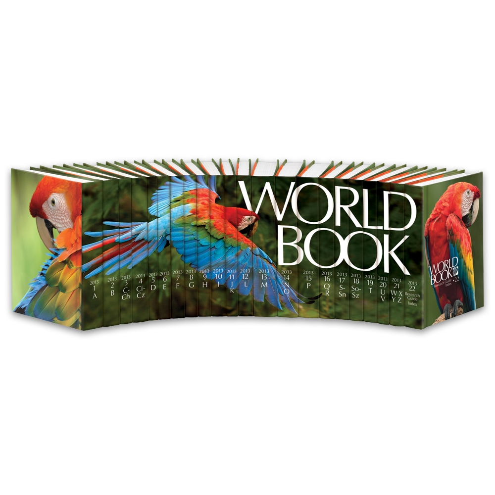 World Book Encyclopedia 2013