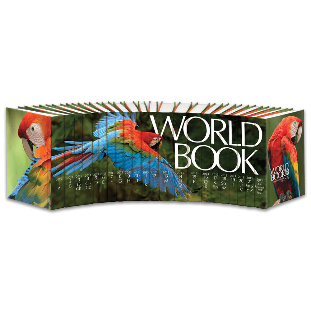 World Book | 2013 World Book Encyclopedia - photo#8