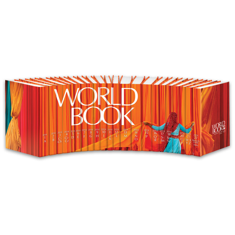 World Book Encyclopedia 2014
