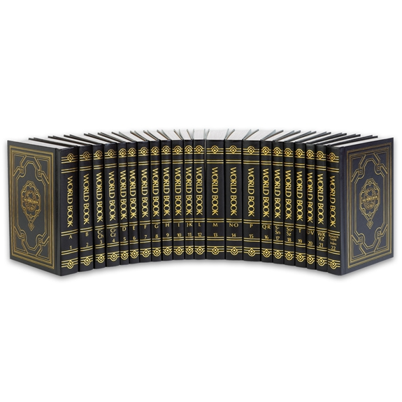 World Book Encyclopedia 2015 Classic spinescape