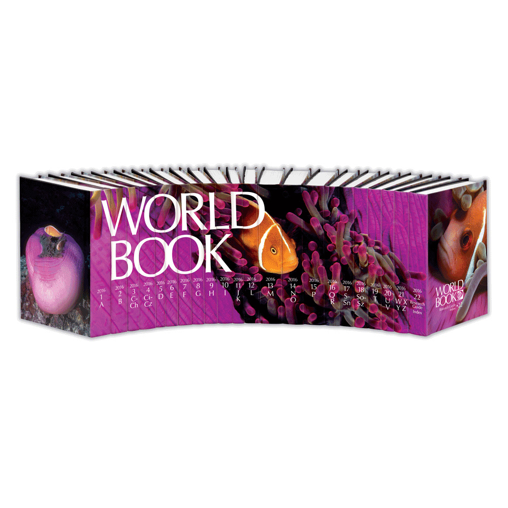 World Book Encyclopedia 2016