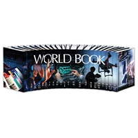 World Book Encyclopedia 2019 spinescape