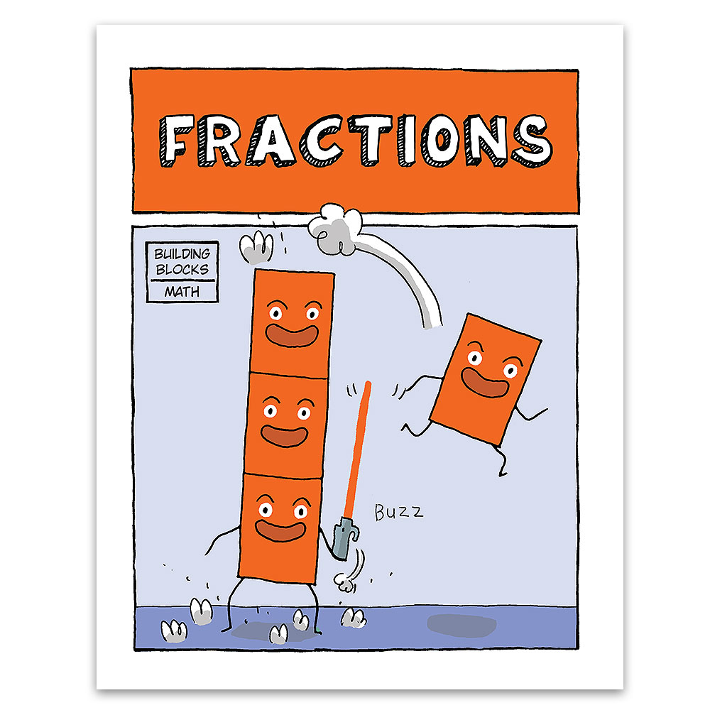 Fractions  (Building Blocks of Math) - 20322