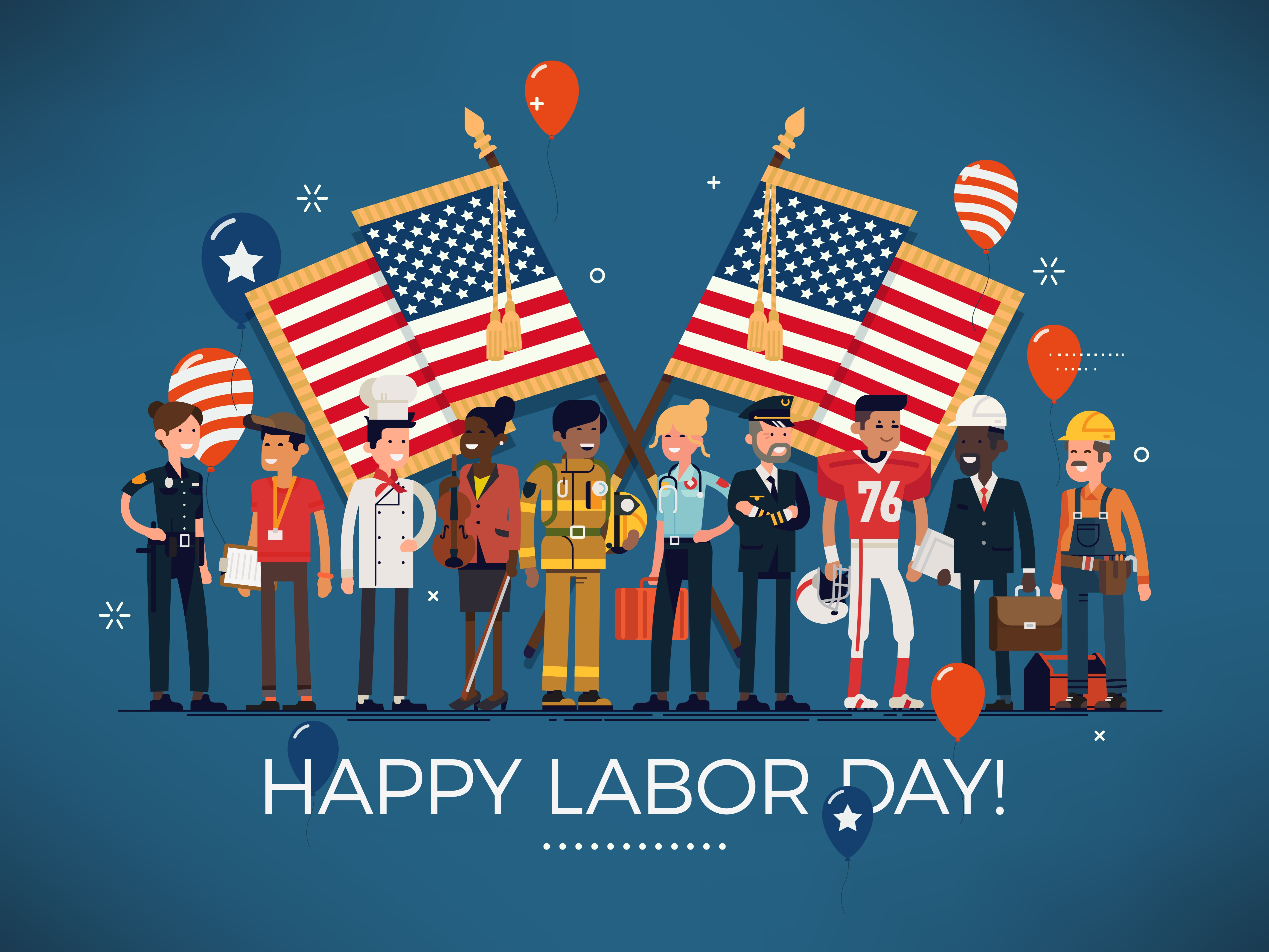 labor day holiday monday - HD5512×4134