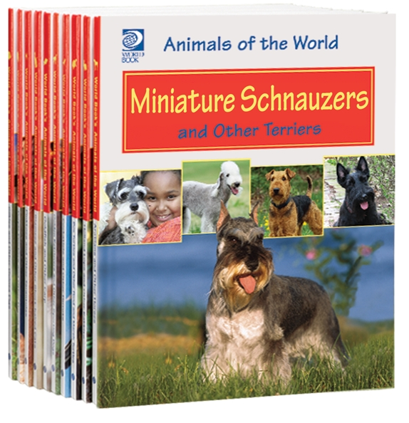 Animals of the World book set