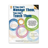 If You Cant Manage Them, You Cant Teach Them cover