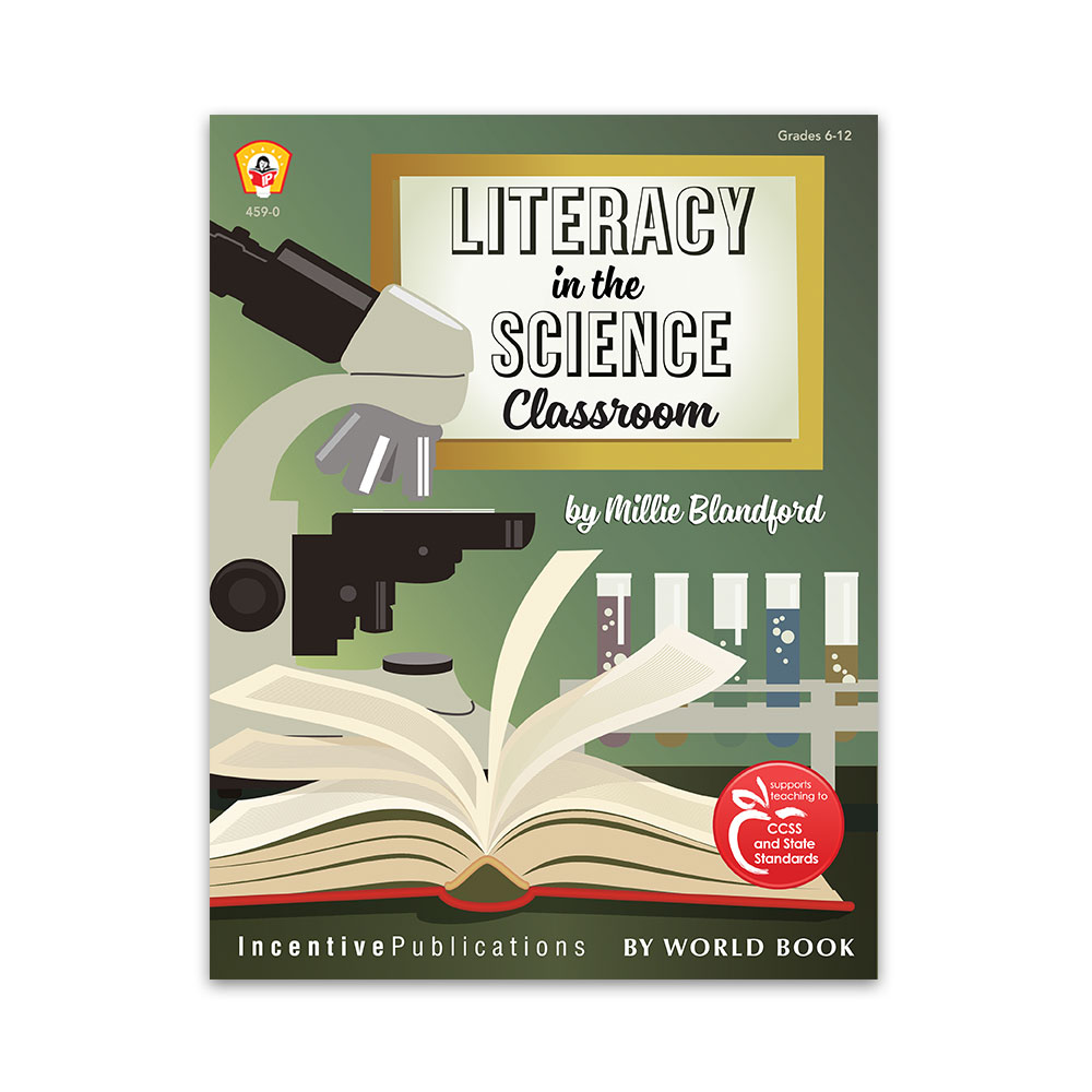 Literacy in the Science Classroom cover