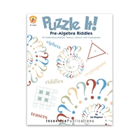 Puzzle It Pre-Algebra Riddles cover
