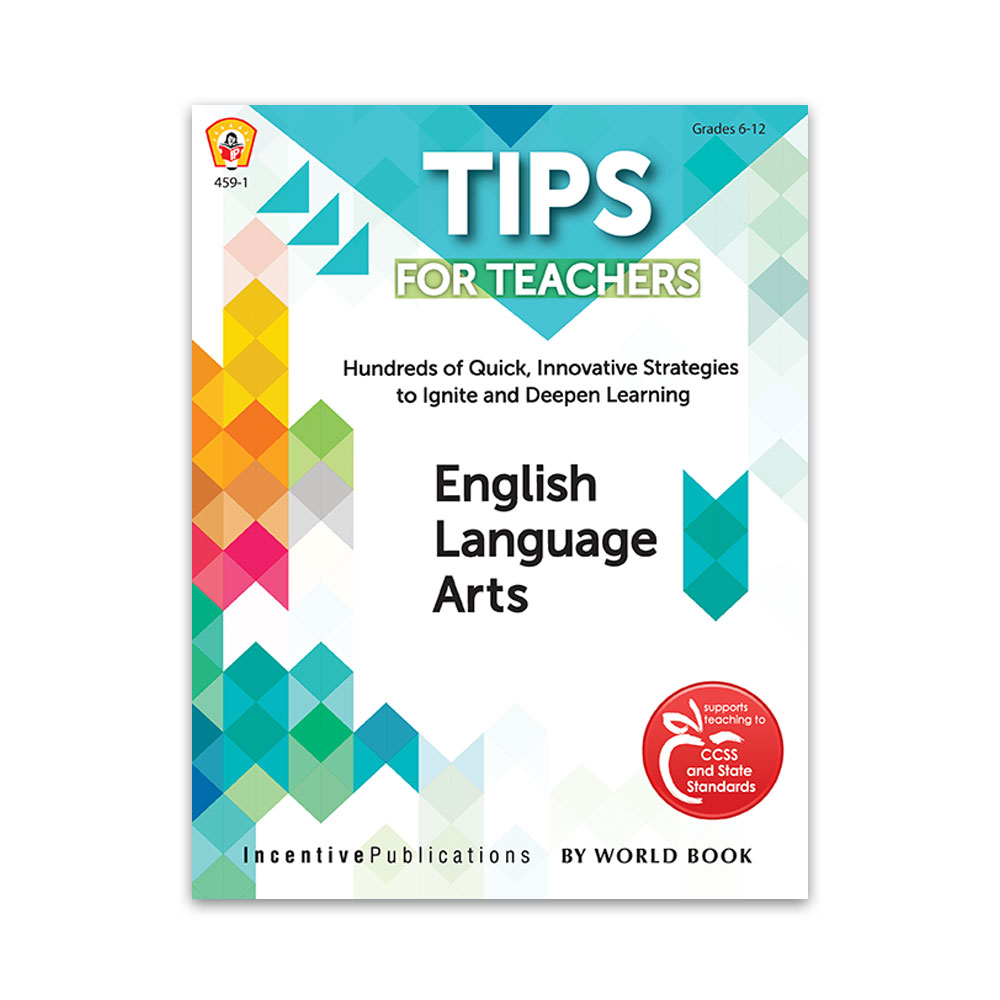 Tips for Teachers English Language Arts cover