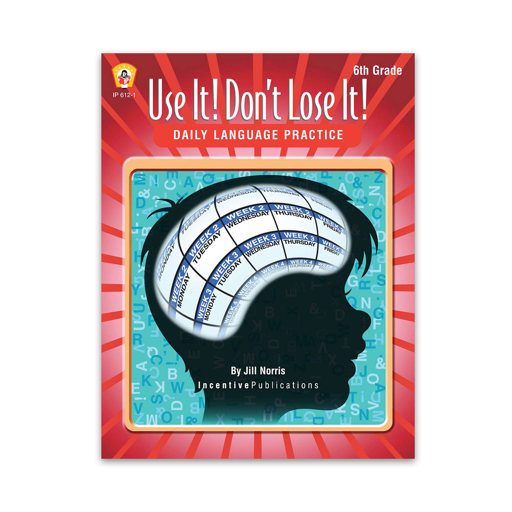 Use It Don't Lose It 6th Grade cover