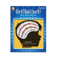 Use It Dont Lose It Math 5th Grade cover