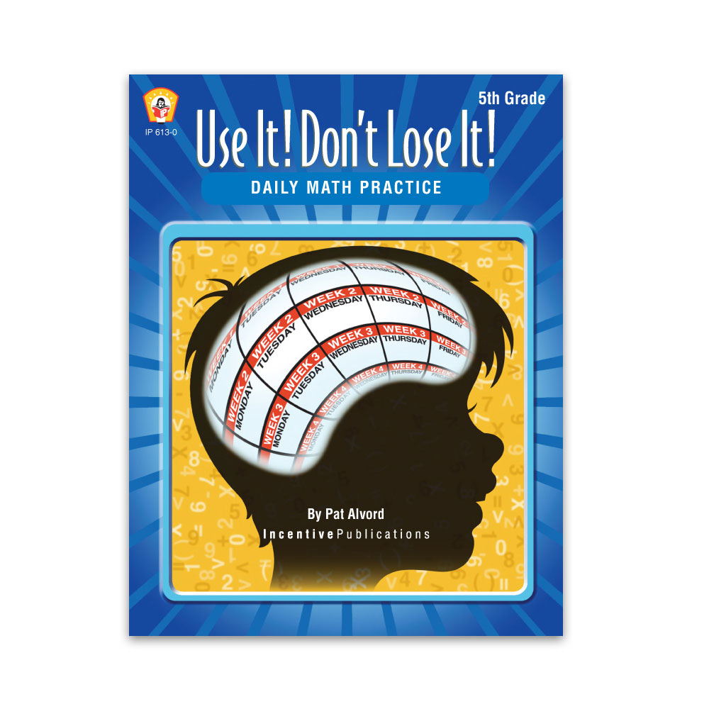 Use It Don't Lose It Math 5th Grade cover